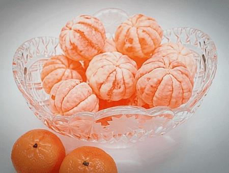 мыло мандарин ручной работы