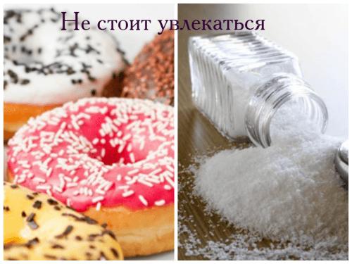 продукты - враги стройной фигуры