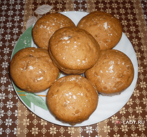 рецепт кексов с изюмом
