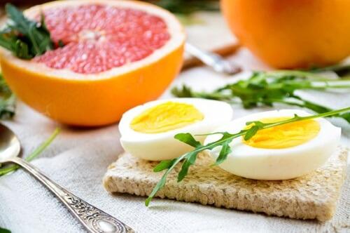 разгрузочный день яйца и грейпфрут