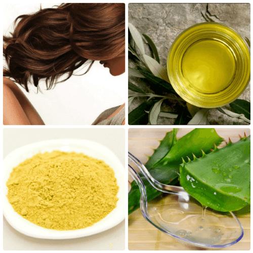рецепты масок против выпадения волос