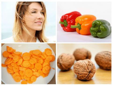 витамины, предотвращающие старение кожи