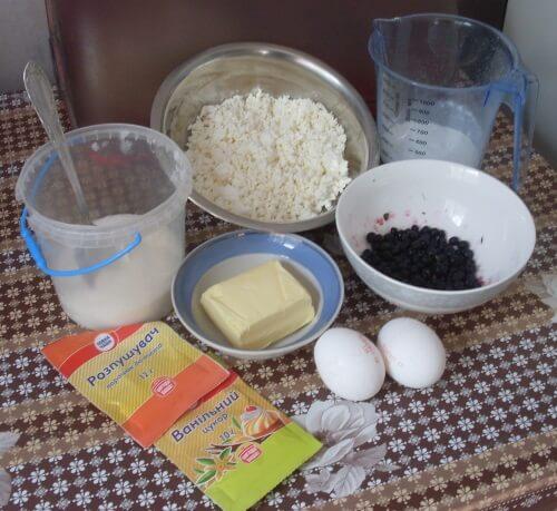 продукты для творожного пирога