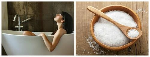 рецепты соли для ванны