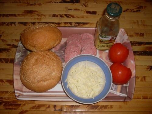 готовим горячие бутерброды ингредиенты
