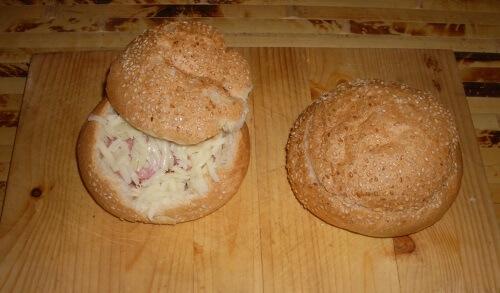закрытые горячие бутерброды