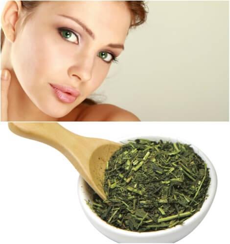 зеленый чай для молодости и красоты