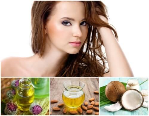 питательные масла для волос